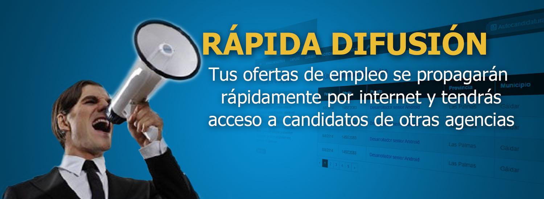 Difunde tus ofertas de empleo por internet